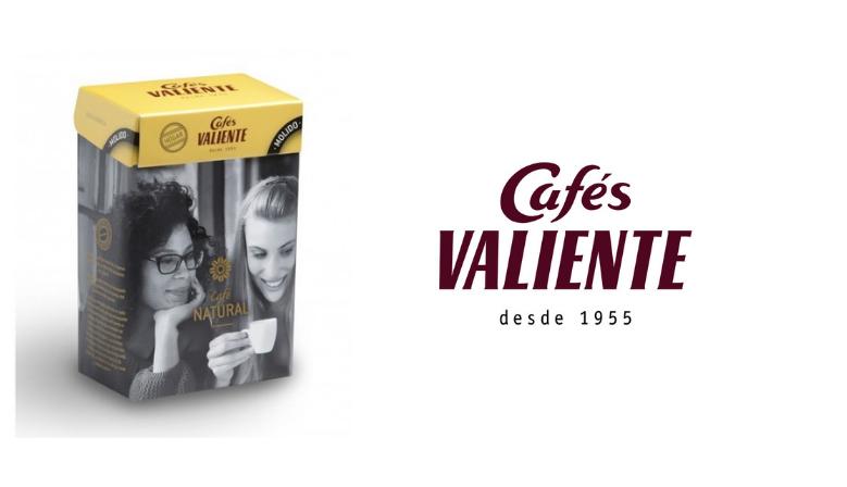 Cafés Valiente Natural 100% Arábica en grano